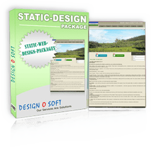Static Web Design packages