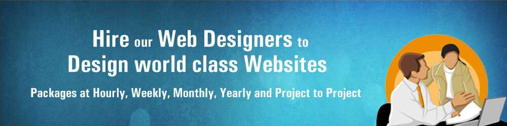 Hire our web designers in India