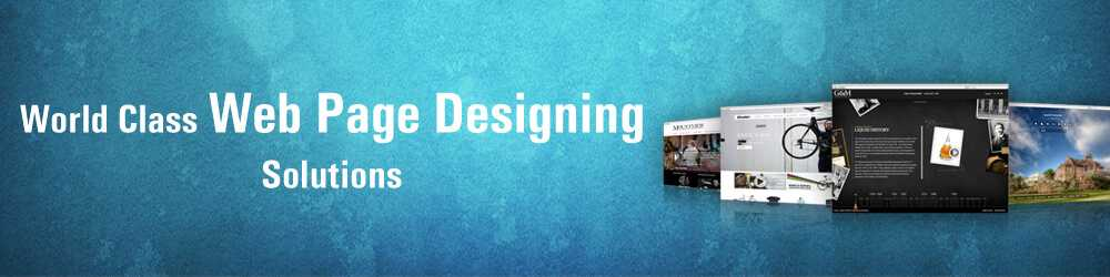 web page designing company